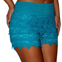 Bailey (Teal)-Great Glam is the web's top online shop for trendy clubbin styles, fashionable party dress and bar wear, super hot clubbing clothing, stylish going out shirt, partying clothes, super cute and sexy club fashions, halter and tube tops, belly a
