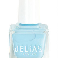 Delicate Blue Nail Polish