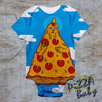Be with you pizza baby Onesuit, baby romper,baby jumpsuit