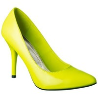 Women's Mossimo® Vivian Pointy Heel - Neon Yellow