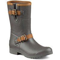Women's Walker Fog Rain Boot in Charcoal by Sperry