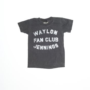 Waylon Jennings Fan Club Kid's Tee Shirt