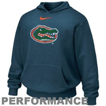 NCAA Florida Gators Nike Kids Therma-FIT Hoodie Sweatshirt  Royal Blue