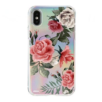 Holographic iPhone Case Cover - Petals