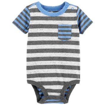 Baby Boy OshKosh B'gosh® Striped Bodysuit | null