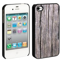 Weathered Cambera iPhone 4/4S Hard Shell Case - Black