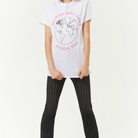 The Style Club Women Save The World Graphic Tee