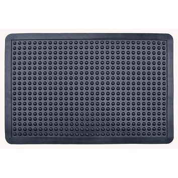 Glossy Bubbles Top  Cushion-Ease Anti Fatigue Rubber Mat