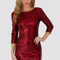 Sexy Sequins Evening Club Slim Bodycon Dress