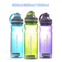 3 color my portable space water bottles with tea infuser bottle 600ml/800ml/1000ml