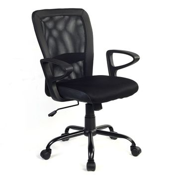 Modern Ergonomic Mesh Medium Back Office Chair Executive Computer Desk Task New