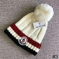 MONCLER 2018 autumn and winter new plus ball knit hat casual warm hat #3