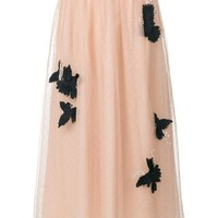 DCCKIN3 Red Valentino Tulle Layer Skirt