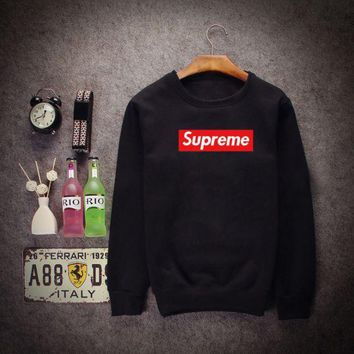 PEAPDQ7 Hot Sale Unisex Lovers Supreme Sports Sweaters Pullovers