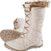 "New Womens Columbia ""Minx Mid"" Insulated Omni-Grip Waterproof Winter Snow Boots"