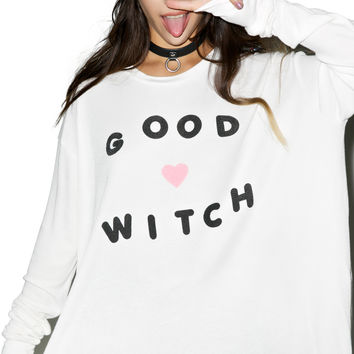 WILDFOX Good Witch Effortless Thermal OFF WHITE