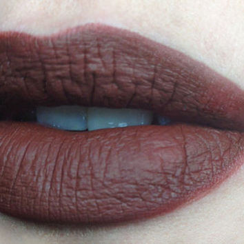 "Liquid Matte Brown Lipstick ""Ceres"""