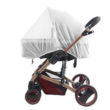 CREYONJ Summer children baby stroller pushchair mosquito net netting accessories curtain carriage cart cover insect care
