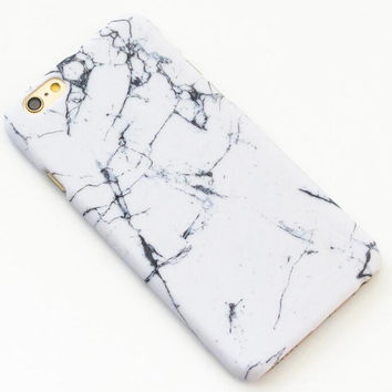White Marble Texture iPhone 7 7Plus & iPhone 6 6s Plus & iPhone 5s se Case Hard Cover +Gift Box