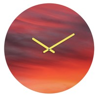 Shannon Clark Evening Round Clock