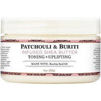 100% Organic Shea Butter Infused With Patchouli & Buriti