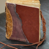 Lavender & Wine Leather Journal