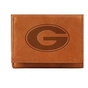 Georgia Bulldogs Embossed Trifold Wallet