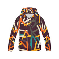 Sticks All Over Print Hoodie for Men (USA Size) (Model H13) | ID: D1438667