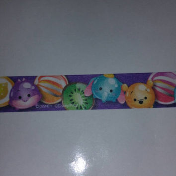 Tsum Tsum candy washi sample