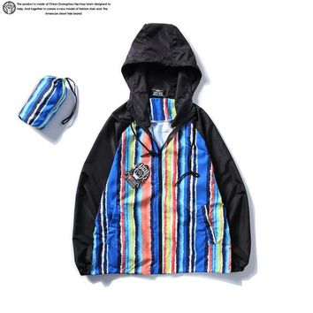 Stripes Rashguard Windbreaker [211453968396]