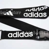 FREE SHIPPING Men Key Lanyard  Brand LOGO Sport ID badge Holders Sport  neck strap keychains