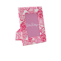 Lilly Pulitzer Printed Frame - Phi Mu