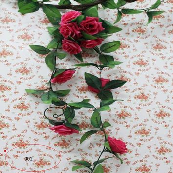 High-grade artificial flowers Simulated roses