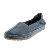 Naturalizer Womens Feist Leather Contrast Stitch Loafers