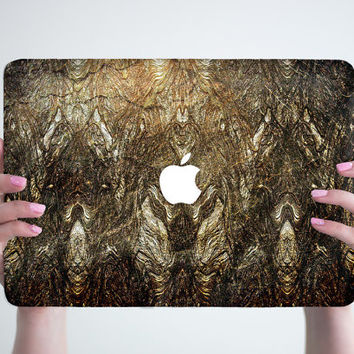 Gold Gliter Macbook Case Hard Gliter Macbook Air Case New Macbook Pro Case MacBook Air 13 Air 11 Case Golden MacBook Pro 13 15 Laptop Case