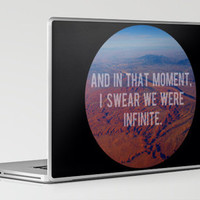 And in That Moment, I Swear We Were Infinite Laptop & iPad Skin by Josrick | Society6