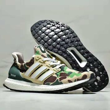 Bape x Adidas Ultra boost co-branded limited-edition casual spor f7e361a54705