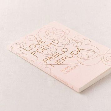 ESB4XG Love Poems By Pablo Neruda | Urban Outfitters