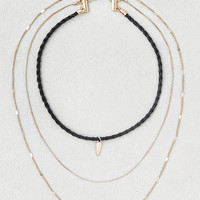 AEO Choker + Layering Necklaces, Black