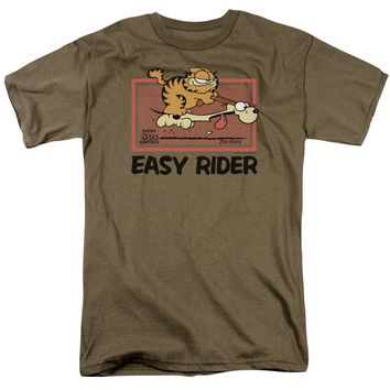 Garfield - Vintage Easy Rider Short Sleeve Adult 18/1
