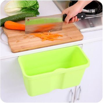 CREYUG3 Innovative Kitchen Box Plastic Multi-function Storage Rubbish Bin [6395703172]