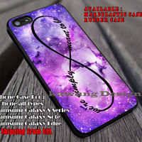 We Are Simply Meant To Be Infinity | Jack and Sally | Nightmare Before Christmas | case/cover for iPhone 4/4s/5/5c/6/6+/6s/6s+ Samsung Galaxy S4/S5/S6/Edge/Edge+ NOTE 3/4/5 #cartoon #disney #theNightmareBeforeChristmas ii