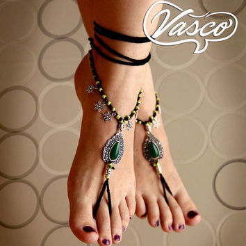 Barefoot Sandals. Bellydance Shoes