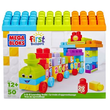 Mega Bloks 1-2-3 Learning Train