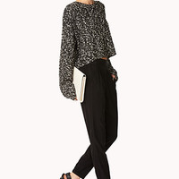 Refined Crepe Woven Trousers