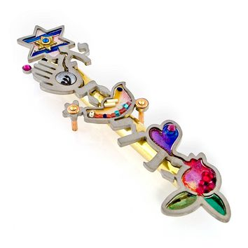Seeka Ahava Love Mezuzah Curated by The Artazia Collection M0303