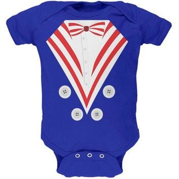 CUPUPWL Halloween Uncle Sam Costume Soft Baby One Piece