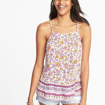 Lightweight Printed Swing Cami for Women |old-navy