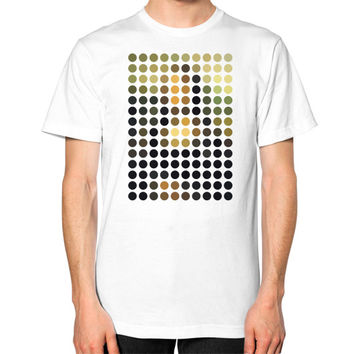 Mona Lisa Remix Unisex T-Shirt (on man)