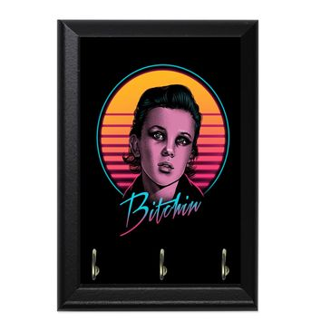 Bitchin Decorative Wall Plaque Key Holder Hanger